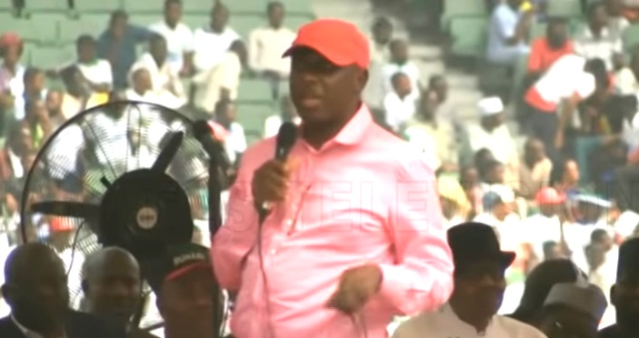 'War drums' in Rivers State: Anything Wike wants, we'll give him on Saturday, says Amaechi